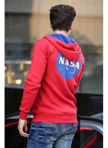 Madmext Sweatshirt Kırmızı